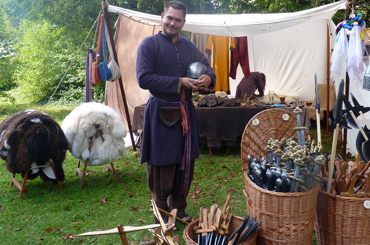 marché médiéval